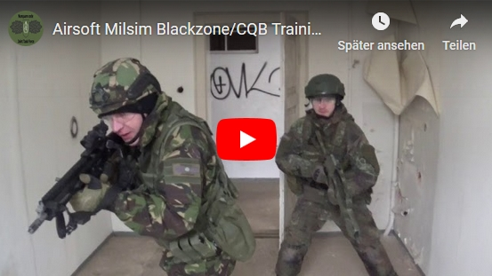 Milsim Airsoft CQB Training | Dezember 2018 Video Trailer