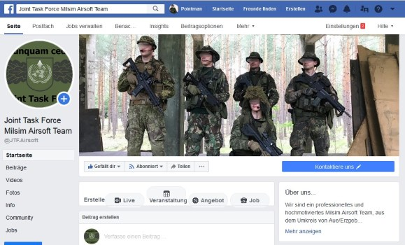 Joint Task Force | Milsim Airsoft Team Erzgebirge - Social-Media Seiten…