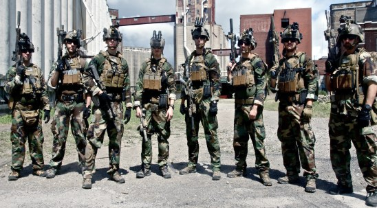 Green Mountain Rangers - Milsim Airsoft Team (Training,Medien,Reviews)