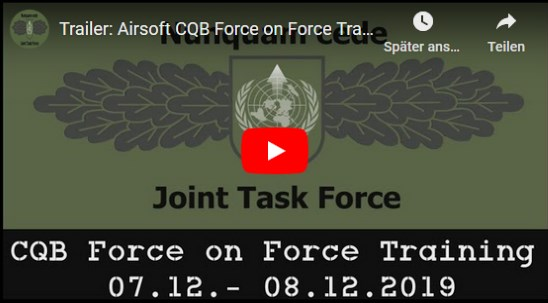 Milsim Airsoft CQB Force on Force Training | Dezember 2019…